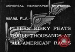 Image of aircraft Miami Florida USA, 1933, second 1 stock footage video 65675042739