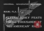 Image of aircraft Miami Florida USA, 1933, second 6 stock footage video 65675042739