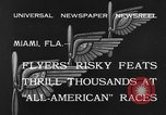 Image of aircraft Miami Florida USA, 1933, second 7 stock footage video 65675042739