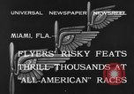 Image of aircraft Miami Florida USA, 1933, second 8 stock footage video 65675042739
