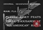 Image of aircraft Miami Florida USA, 1933, second 10 stock footage video 65675042739