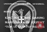 Image of King Victor Emmanuel III Rome Italy, 1933, second 4 stock footage video 65675042740