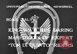 Image of King Victor Emmanuel III Rome Italy, 1933, second 7 stock footage video 65675042740