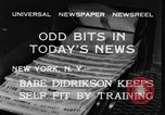 Image of Babe Didrikson New York United States USA, 1933, second 7 stock footage video 65675042741