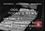 Image of Babe Didrikson New York United States USA, 1933, second 8 stock footage video 65675042741