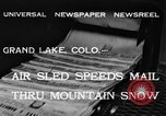 Image of air sled Colorado United States USA, 1933, second 4 stock footage video 65675042745