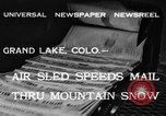 Image of air sled Colorado United States USA, 1933, second 7 stock footage video 65675042745