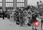 Image of American children parade in costume Ocean Park California USA, 1935, second 4 stock footage video 65675042765