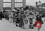 Image of American children parade in costume Ocean Park California USA, 1935, second 5 stock footage video 65675042765