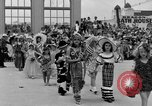 Image of American children parade in costume Ocean Park California USA, 1935, second 6 stock footage video 65675042765