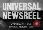 Image of Washington Husky crew boat race Seattle Washington USA, 1936, second 7 stock footage video 65675042771
