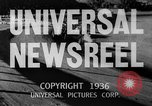 Image of Washington Husky crew boat race Seattle Washington USA, 1936, second 11 stock footage video 65675042771
