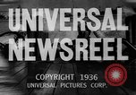 Image of Washington Husky crew boat race Seattle Washington USA, 1936, second 22 stock footage video 65675042771
