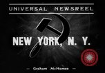 Image of anti-Nazi rally New York United States USA, 1938, second 1 stock footage video 65675042784