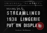 Image of models Miami Florida USA, 1938, second 1 stock footage video 65675042789