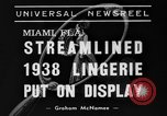 Image of models Miami Florida USA, 1938, second 10 stock footage video 65675042789