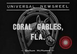 Image of Easiest Way horse Coral Gables Florida USA, 1938, second 5 stock footage video 65675042791