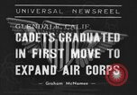 Image of USAAC Aviation Cadets graduate in California Glendale California USA, 1939, second 1 stock footage video 65675042793