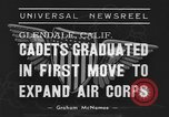 Image of USAAC Aviation Cadets graduate in California Glendale California USA, 1939, second 2 stock footage video 65675042793