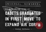 Image of USAAC Aviation Cadets graduate in California Glendale California USA, 1939, second 7 stock footage video 65675042793