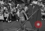 Image of children's parade on the boardwalk Ocean City New Jersey USA, 1939, second 10 stock footage video 65675042797