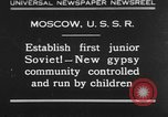 Image of gypsy children Moscow Russia Soviet Union, 1930, second 1 stock footage video 65675042805