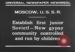 Image of gypsy children Moscow Russia Soviet Union, 1930, second 3 stock footage video 65675042805
