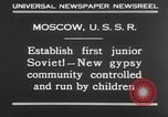Image of gypsy children Moscow Russia Soviet Union, 1930, second 4 stock footage video 65675042805