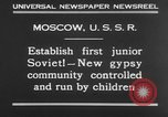 Image of gypsy children Moscow Russia Soviet Union, 1930, second 6 stock footage video 65675042805