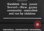 Image of gypsy children Moscow Russia Soviet Union, 1930, second 9 stock footage video 65675042805