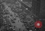 Image of building on fire Chicago Illinois USA, 1930, second 8 stock footage video 65675042807