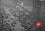 Image of building on fire Chicago Illinois USA, 1930, second 10 stock footage video 65675042807