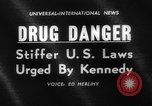 Image of President Kennedy on FDA drug controls Washington DC USA, 1962, second 3 stock footage video 65675042811