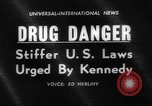 Image of President Kennedy on FDA drug controls Washington DC USA, 1962, second 4 stock footage video 65675042811