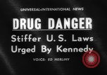 Image of President Kennedy on FDA drug controls Washington DC USA, 1962, second 5 stock footage video 65675042811