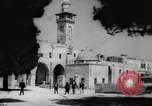 Image of Israeli Arabs visiting mosques in Jerusalem Jerusalem Palestine, 1967, second 5 stock footage video 65675042821