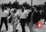Image of Israeli Arabs visiting mosques in Jerusalem Jerusalem Palestine, 1967, second 10 stock footage video 65675042821