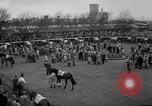 Image of Grand National horse race Liverpool England, 1963, second 6 stock footage video 65675042828