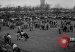 Image of Grand National horse race Liverpool England, 1963, second 7 stock footage video 65675042828