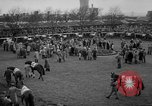 Image of Grand National horse race Liverpool England, 1963, second 8 stock footage video 65675042828
