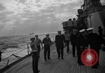 Image of Navy Secretary, Thomas, visits USS Bennington and USS St. Paul Pacific Ocean, 1955, second 10 stock footage video 65675042864