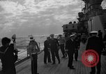 Image of Navy Secretary, Thomas, visits USS Bennington and USS St. Paul Pacific Ocean, 1955, second 11 stock footage video 65675042864