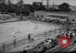 Image of swimming meet Los Angeles California USA, 1966, second 8 stock footage video 65675042881