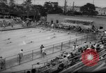 Image of swimming meet Los Angeles California USA, 1966, second 10 stock footage video 65675042881