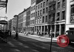 Image of City street scene New York City USA, 1950, second 6 stock footage video 65675042883