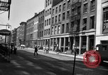 Image of City street scene New York City USA, 1950, second 8 stock footage video 65675042883