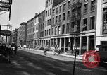 Image of City street scene New York City USA, 1950, second 10 stock footage video 65675042883