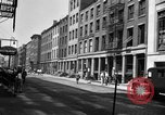 Image of City street scene New York City USA, 1950, second 12 stock footage video 65675042883
