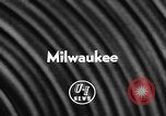 Image of Baseball World Series Milwaukee Wisconsin USA, 1957, second 2 stock footage video 65675042906