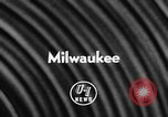 Image of Baseball World Series Milwaukee Wisconsin USA, 1957, second 3 stock footage video 65675042906